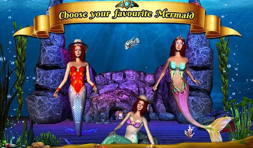Cute Mermaid Simulator 3D - screenshot