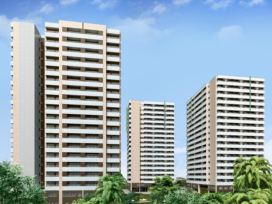 Apartamento à venda na Cid. Dos Funcionários, , em construção. 120m2, 3 suítes, lazer completo. Financia.