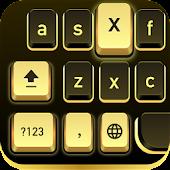 Download Gold Black Krystal Theme APK to PC