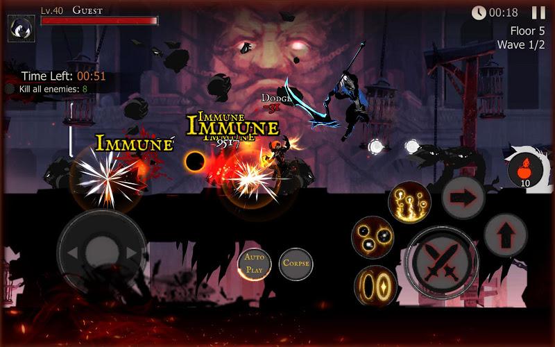 Shadow of Death: Dark Knight  Stickman Fighting Screenshot 15