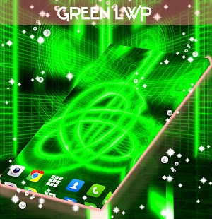 Green Live Wallpaper - screenshot