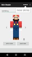 Screenshot of Skin Stealer for Minecraft