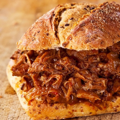 Saucy Pulled Pork Sandwich