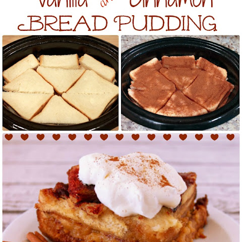 Cinnamon & Vanilla Easy Bread Pudding