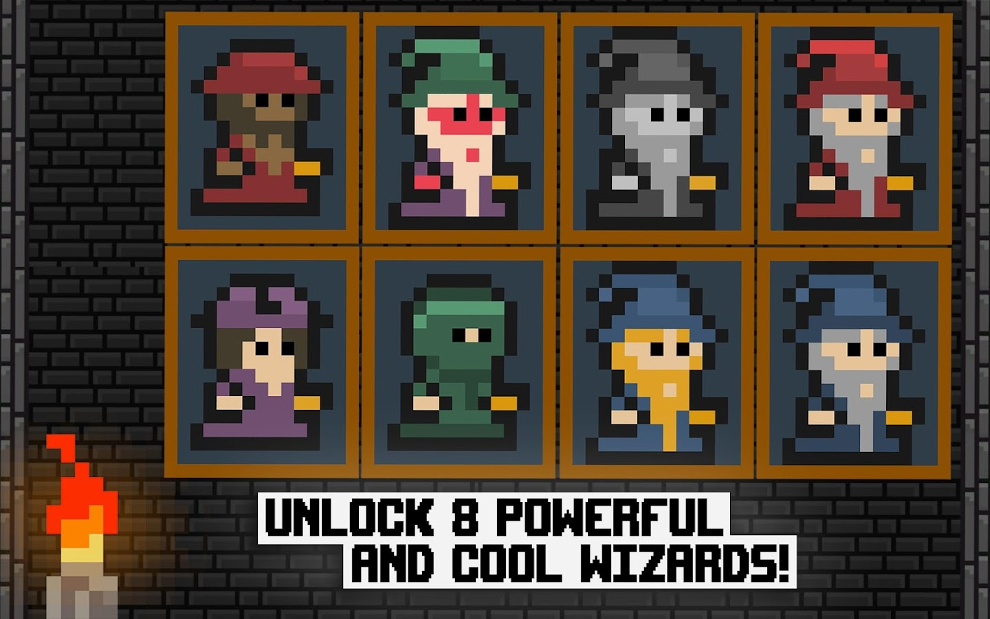 Pixel Wizard Adventures 2D Screenshot 9