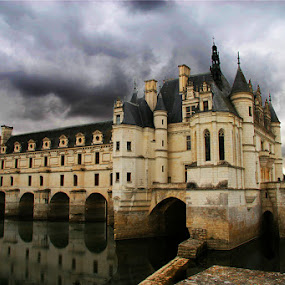 Chateau Cenenceau by Harvey Horowitz - Landscapes Travel ( france )