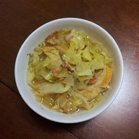 Cabbage Apple Soup