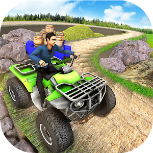 Download Offroad Quad Bike Cargo Transporter Truck Driver For PC Windows and Mac