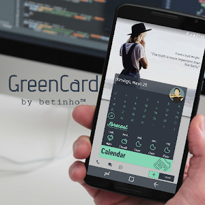 GreenCard for Klwp APK Cracked Download