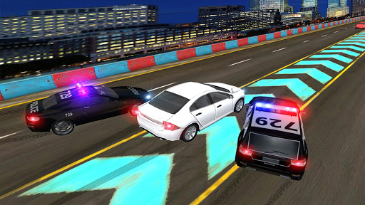 Police Highway Chase in City - Crime Racing Games screenshot 14
