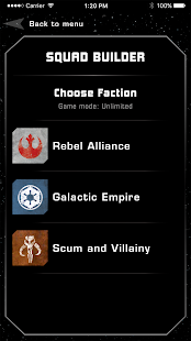X-Wing Squad Builder by FFG
