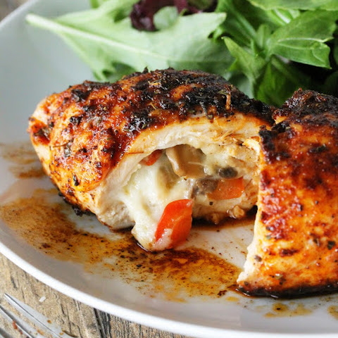 Cajun Stuffed Chicken Breast