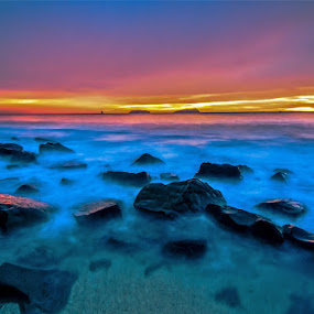 My Blue Hour by Kenny Lee - Landscapes Waterscapes