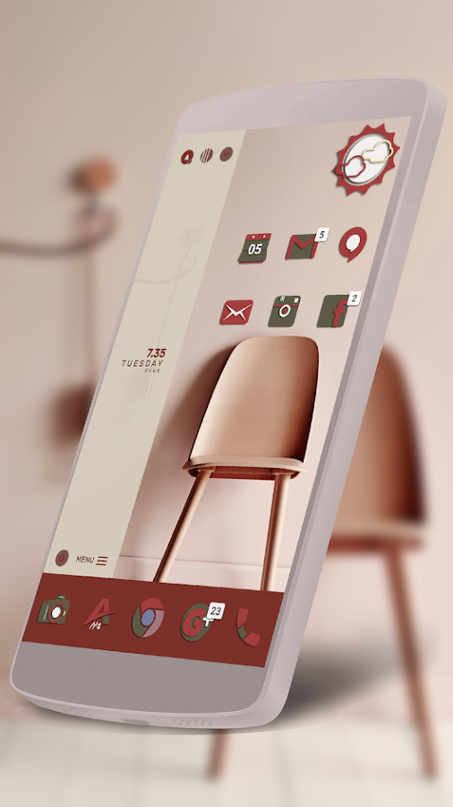 Adhira - Icon Pack Screenshot 3
