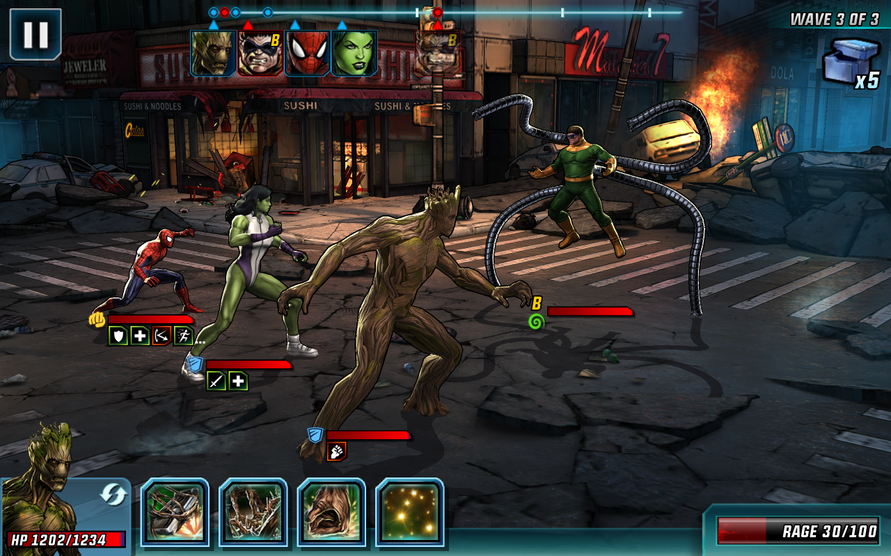 Marvel: Avengers Alliance 2 Screenshot 11