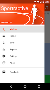 Sportractive GPS Running App Fitness app screenshot for Android