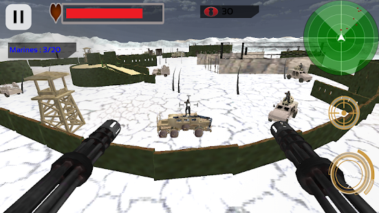 Modern Gunship Heli Strike - screenshot