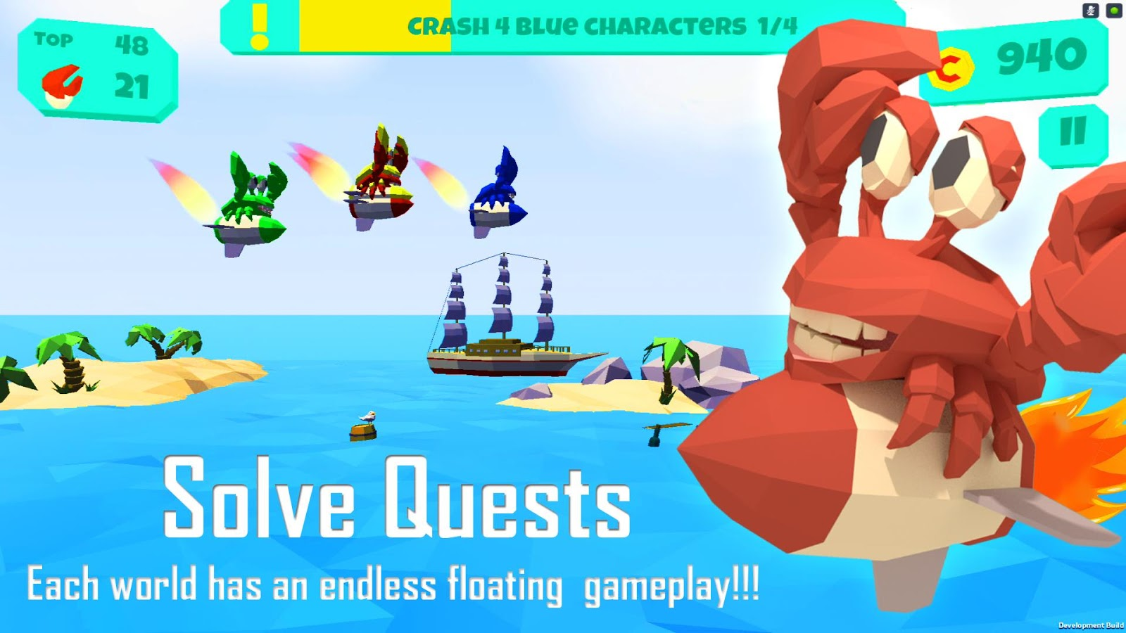 Floaties: Endless Flying Game Screenshot 4