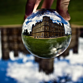 by Mike Ross - Artistic Objects Other Objects ( crystal ball, highclere castle, downton abbey )
