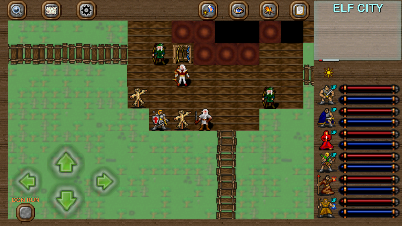 Dungeons of Chaos Screenshot 3