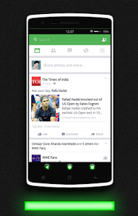 Glow Green CM13 CM12.x Theme- screenshot thumbnail