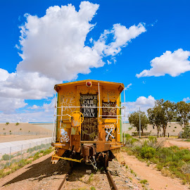 End for the Caboose by Ralph Resch - Transportation Trains ( train )