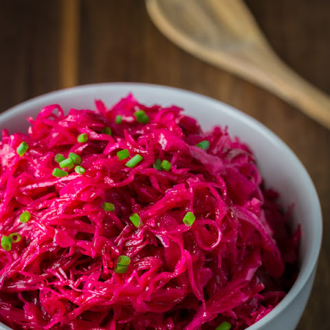 Cabbage and Beet Salad