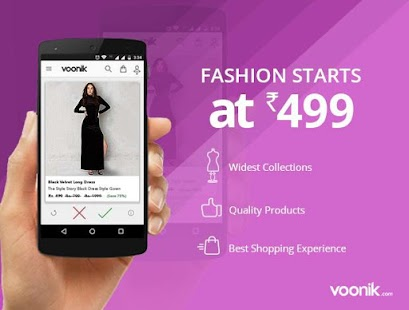 App Voonik Online Shopping Women APK for Windows Phone