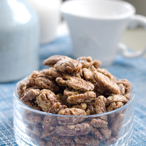 Cinnamon Sugar Coated Pecans
