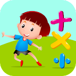 Kids Math Game - Test Your Maths Skills Icon