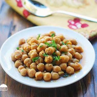 Chana Masala Without Tomatoes Recipes