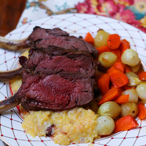 Maple-Roasted Rack of Venison
