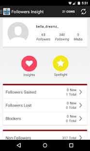Follower Insight for Instagram APK for Kindle Fire