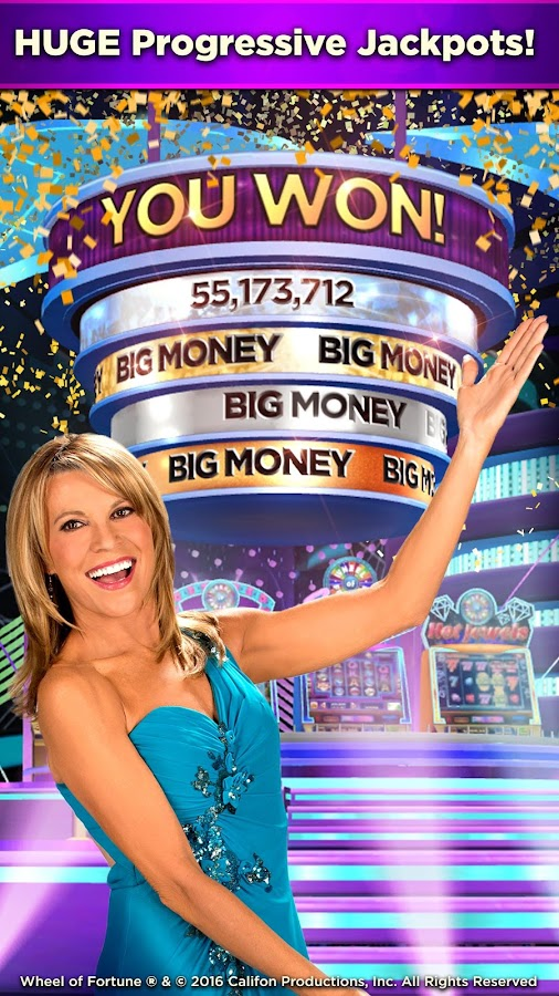 Wheel of Fortune Slots Casino Screenshot 2
