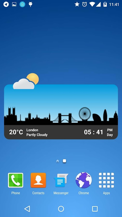Metro Clock Widget Screenshot 2