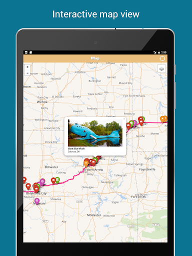Route 66 Map & Guide - screenshot