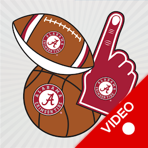 Alabama Crimson Tide Animated Selfie Stickers For PC / Windows 7/8/10 / Mac – Free Download
