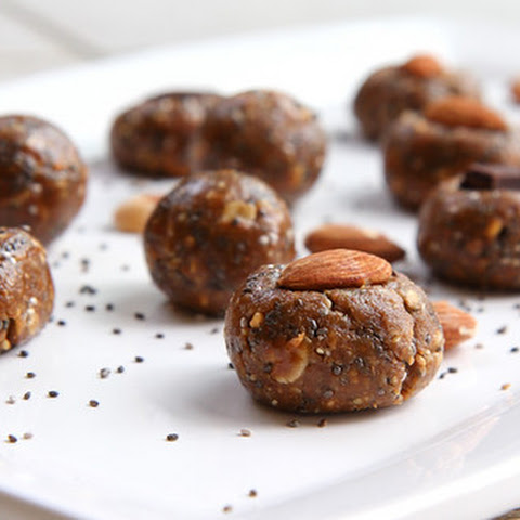 Almond Butter Chia Protein Balls - Healthy Little Bites