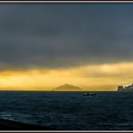 The Perfect Storm by Satyaki De - Landscapes Weather ( over, cloud, ocean, dense, storm, perfect )