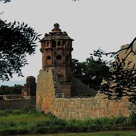 Hampi,  by Pd Sridhara - Buildings & Architecture Public & Historical ( hampi historical indian vijayanagar world-heritage )