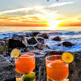 drinks for 2 along the western gulf coast  by Jeffrey Lee - Food & Drink Fruits & Vegetables ( drinks for 2 along the western gulf coast )
