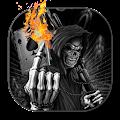 Hell evil skull