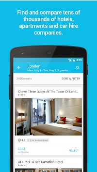 Skyscanner APK screenshot thumbnail 5