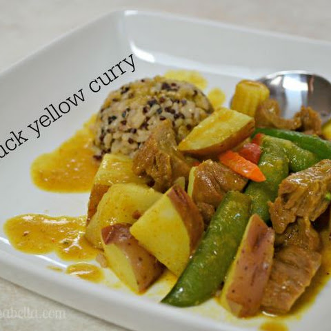 Mock Duck Yellow Curry