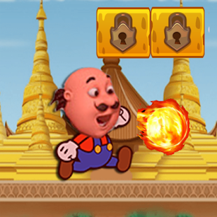Motu Patlu Jungle Run Rickshaw - screenshot