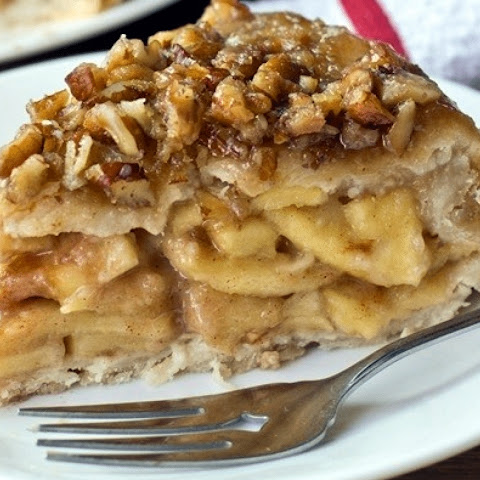 Upside-Down Apple Pie