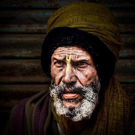 by Amrita Bhattacharyya - People Portraits of Men