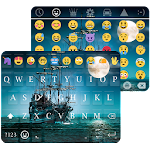 Pirate Ship Wallpaper for Emoji Keyboard Icon