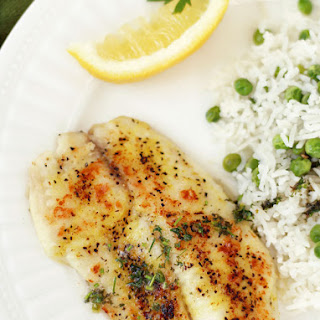 30-Minute Sautéed Lemon Pepper Tilapia