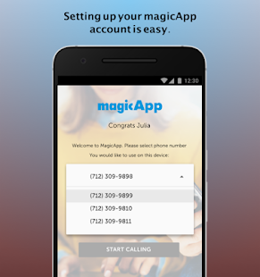 magicApp Calling & Messaging for pc